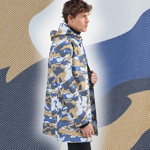 Stutterheim Stockholm DS Denim Camo Spring - Summer 2018
