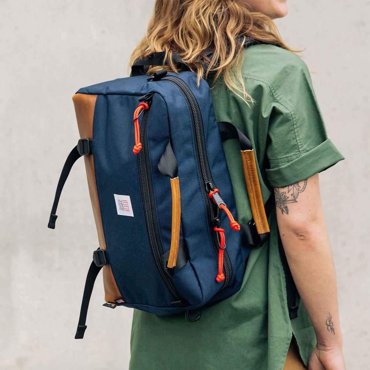 Topo Designs Commuter Briefcase, Aktentasche, Umhängetasche und Rucksack