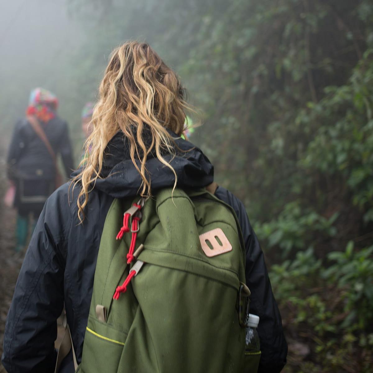 Topo Designs Daypack backpack Olive, Idealer Reiserucksack für Reise, Stadt, Arbeit oder Schule.
