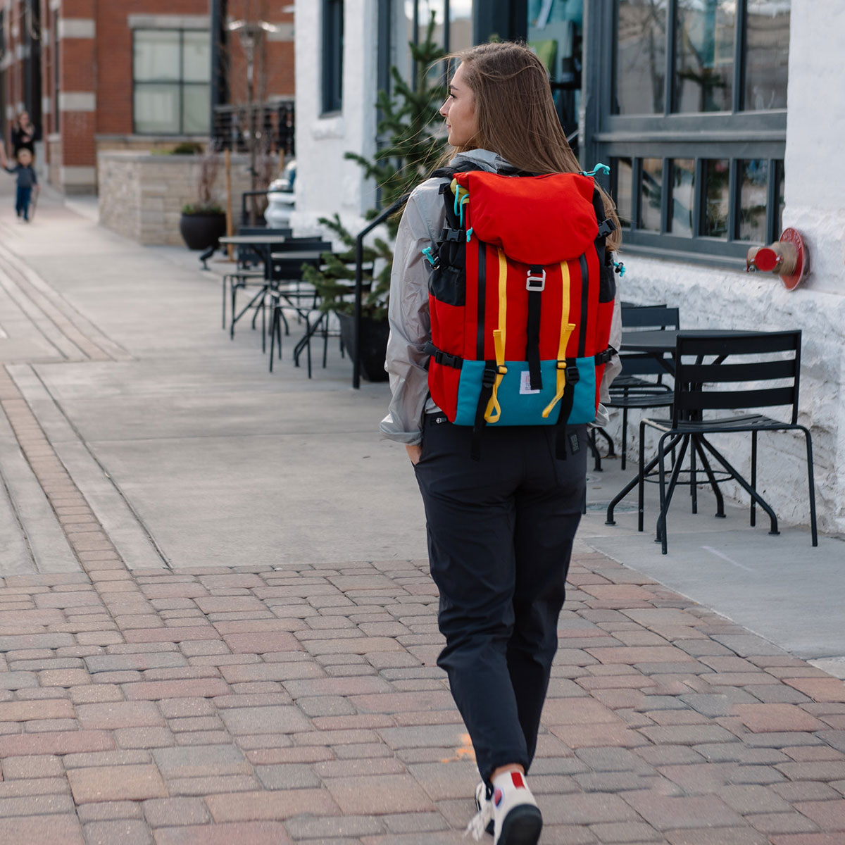 Topo Designs Mountain Pack Red, perfect backpack for traveling