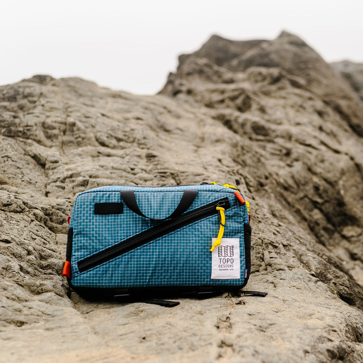 Topo Designs Quick Pack Blue/White Ripstop, Introducing Topo Designs secure travel bag