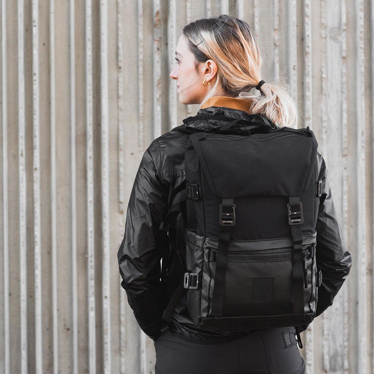 Topo Designs Rover Pack Premium Black, entworfen mit einem besonderen, luxuriösen Gefühl