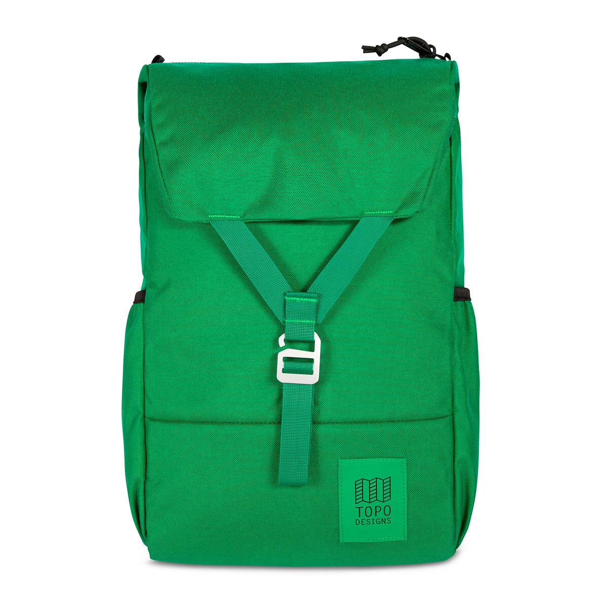 Topo Designs Y-Pack Green/Green, klassischen Stil und moderne Funktionalität