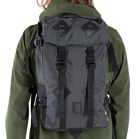 Topo Designs Klettersack Natural/Khaki Leather