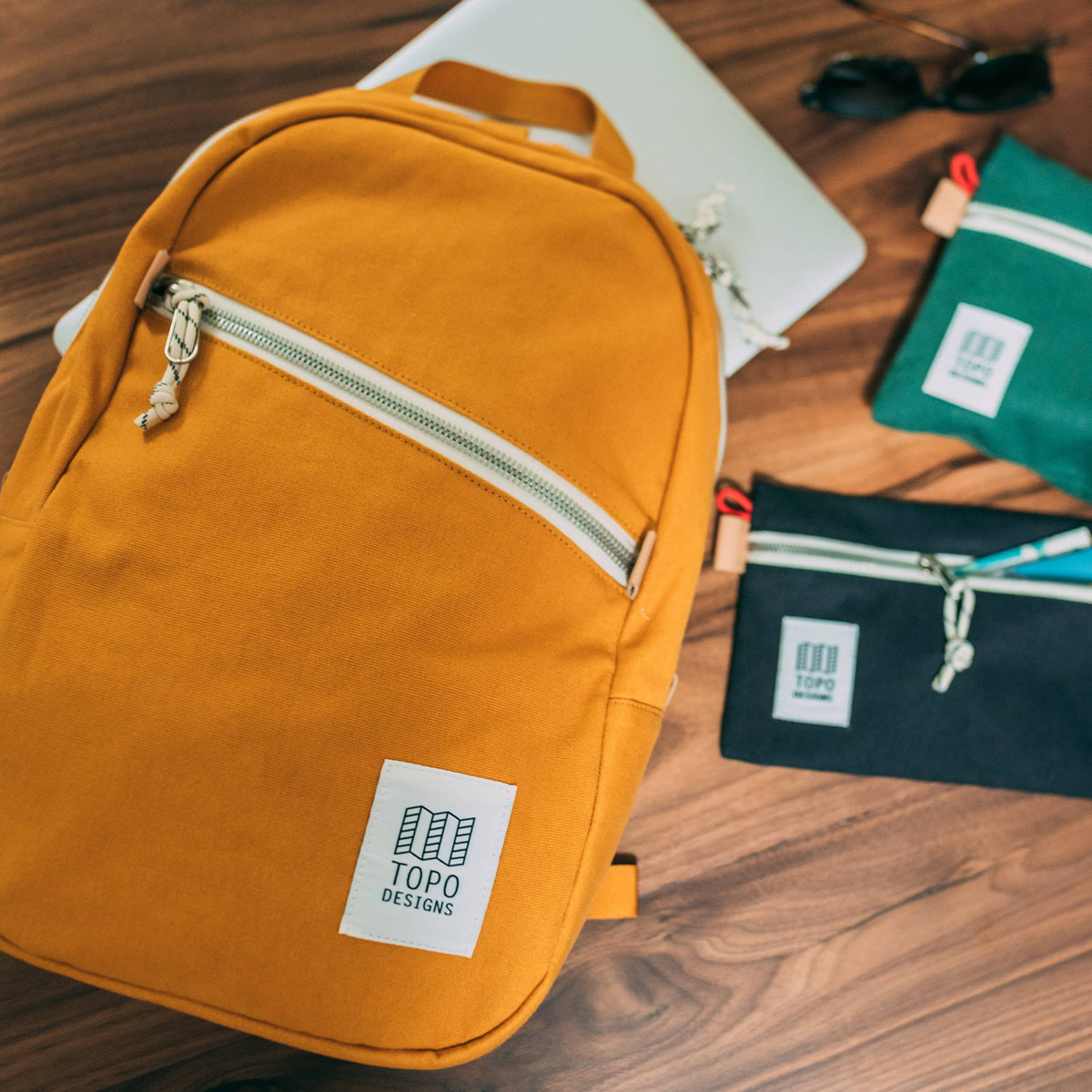 Topo Designs Light Pack Canvas, lightweight carry-all bag, also perfect pack for hiking