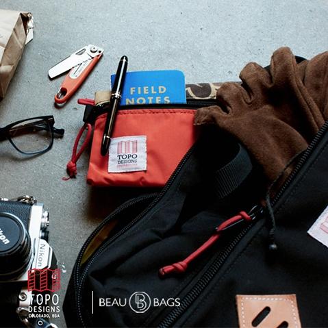 Topo Designs Mountain Briefcase Black, vor der Arbeit, in der Stadt oder auf einer Weltreise