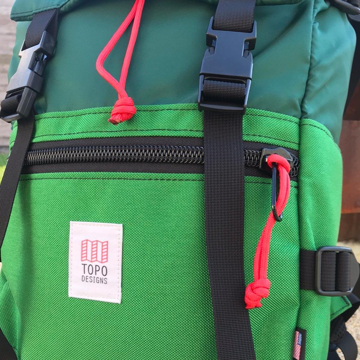Topo Designs Rover Pack Forrest Kelly, der ideale Rucksack für den täglichen Gebrauch