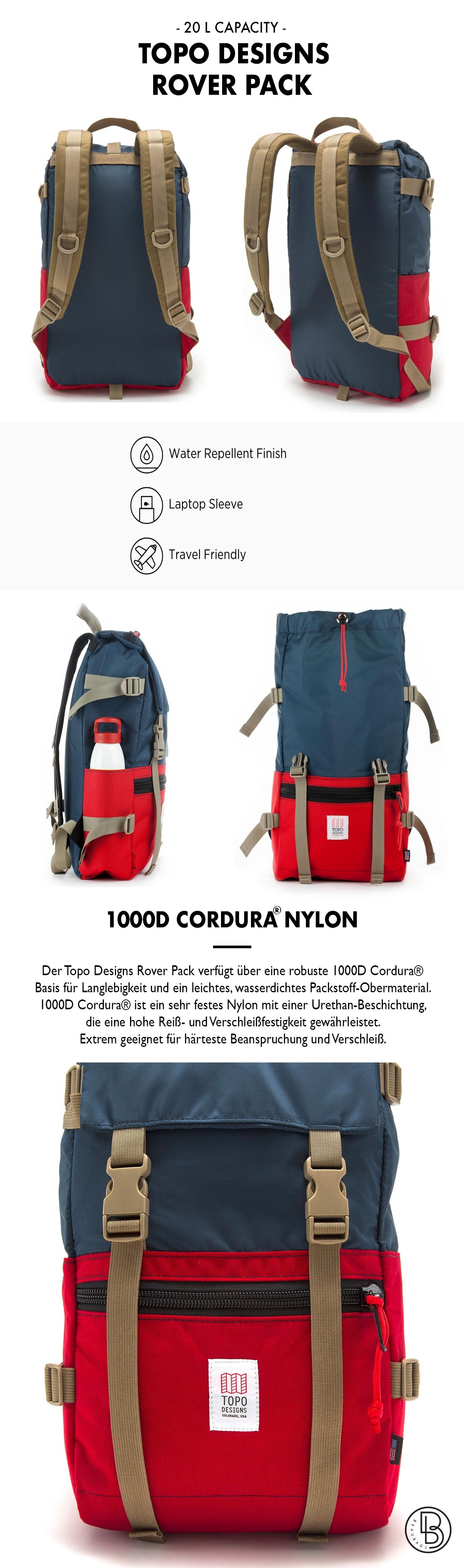Topo Designs Rover Pack Produktinformationen