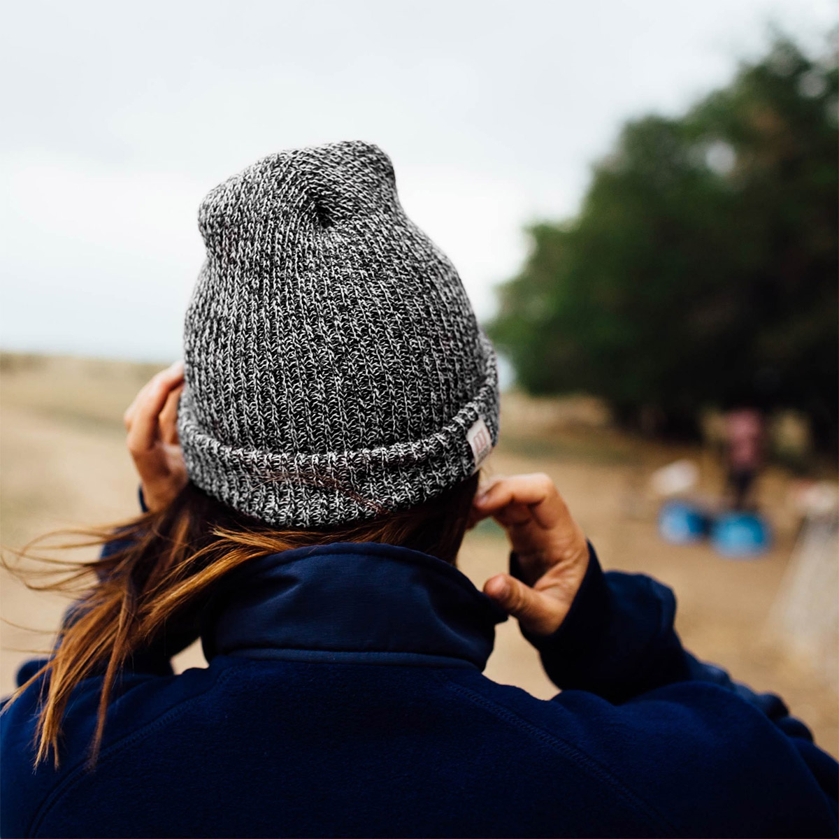 Topo Designs Watch Cap, wonderfully simple cap made with soft acrylic yarn to keep you warm