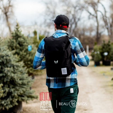 Topo Designs Y-Pack Black