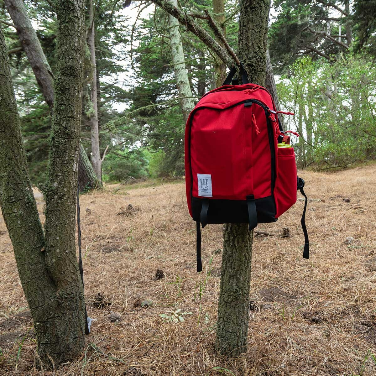 Topo Designs Core Pack Red, perfect backpack for business travel or school commute