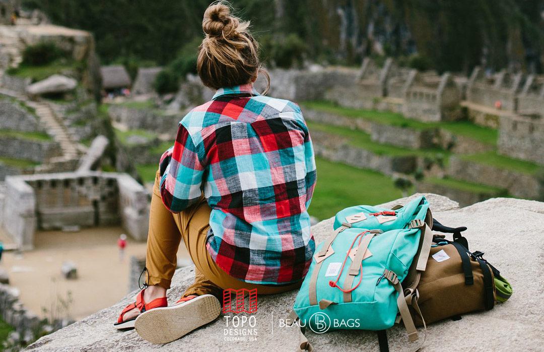 Topo Designs Klettersack Mint Lifestyle