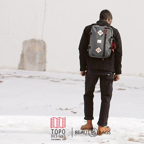 Topo Designs Mountain Briefcase Charcoal, Die ultimative Aktentasche für den täglichen Gebrauch