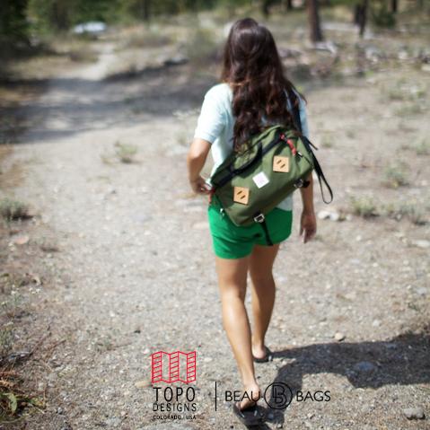 Topo Designs Mountain Briefcase Olive, Die ultimative Aktentasche für den täglichen Gebrauch