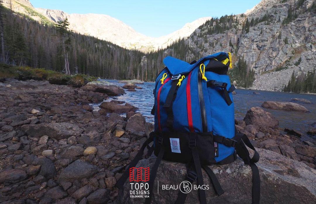 Topo Designs Mountain Pack Royal lifestyle